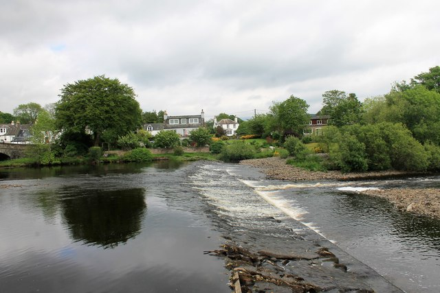 Weir on the Cree