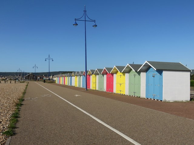 Sovereign Beach huts, Eastbourne