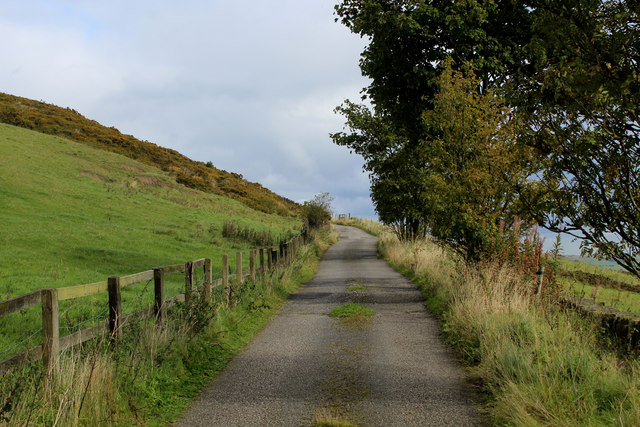 Access Lane to Lower Hambleton Hill Farm