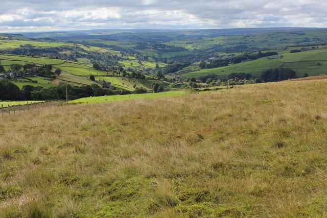 A View towards Luddenden Dean