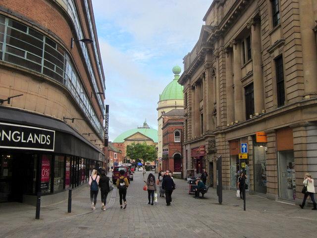 Derby Shops, Town Centre