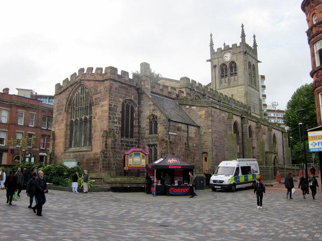 St Peter's Church Derby