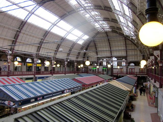 Derby Market Hall Interior