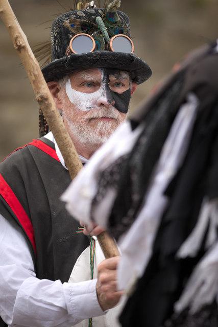 Morris Dancer, Otley Folk Festival