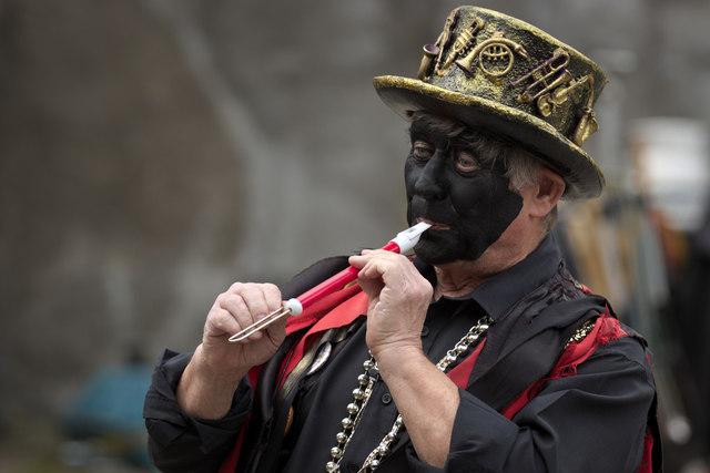Slide Whistle Player, Otley Folk Festival
