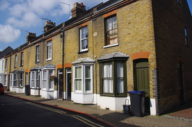 Terraced houses, St Peter's Grove