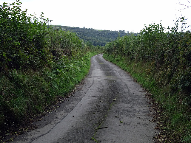 The road to Nantyronen
