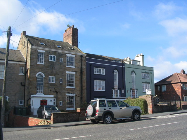 Houses on Upgang Lane