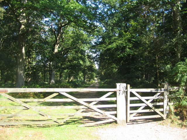 Gate into Frame Heath Inclosure