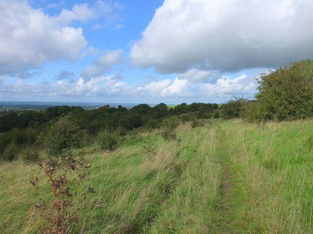 Path on Arn Hill Down