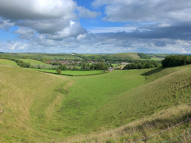 Kidnappers Hole, Arn Hill Down