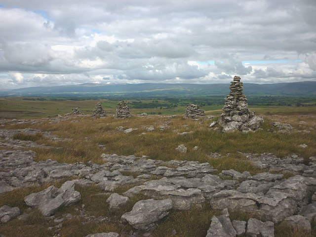 FIVE cairns on High Pike