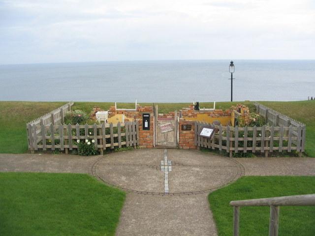 Memorial garden, West Cliff