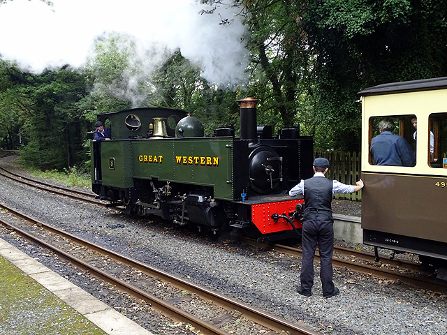 Coupling up at Aberffrwd