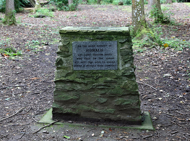 A memorial cairn on the Haining Estate, Selkirk
