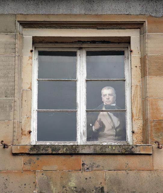 Sir Walter Scott at the Haining