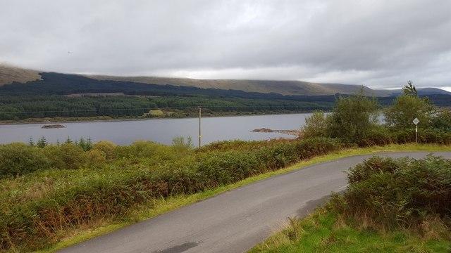 View from Loch Doon Castle
