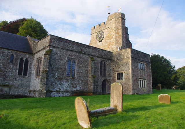St Mary and St Ethelburga Church, Lyminge