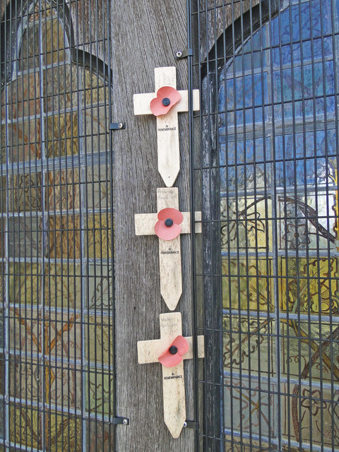 What passes for a War Memorial at Wherstead church