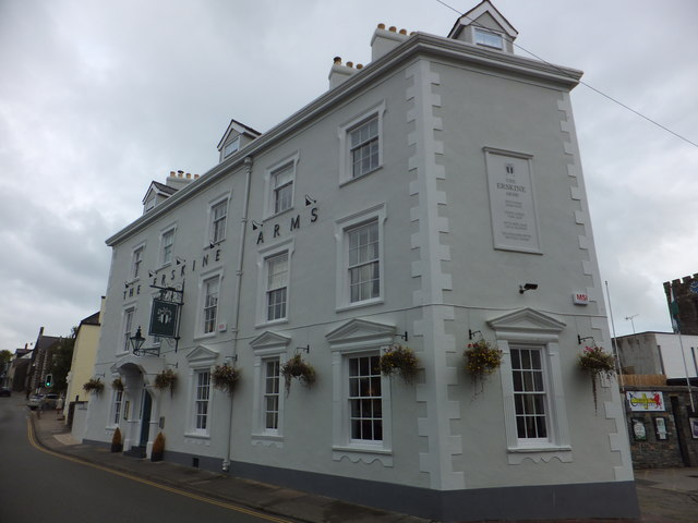 The Erskine Arms, Rosehill Street, Conwy