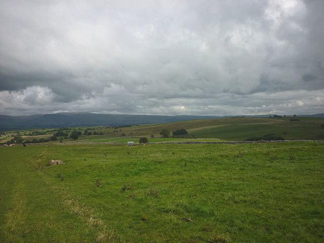Prehistoric settlement near Maisongill