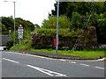 H4572 : Remains of a railway bridge along Irishtown Road, Omagh by Kenneth  Allen