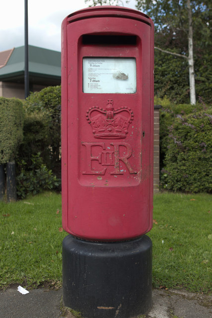Elizabeth II Postbox, Bankwood Way