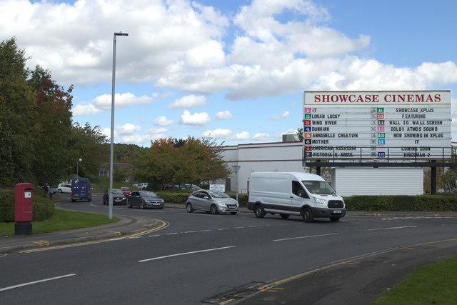 Showcase Cinema Sign, Bankwood Way