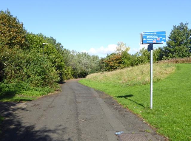 Dunston Staithes Railway Path