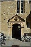 SP5106 : St Edmund Hall College entrance by N Chadwick