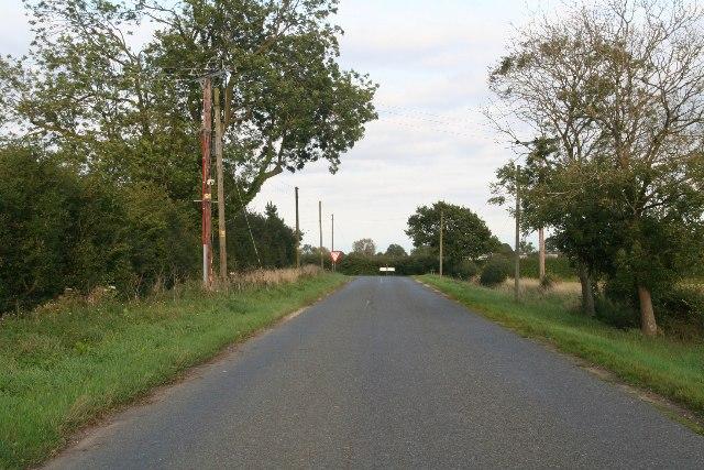 End of Hale Road, Horsington