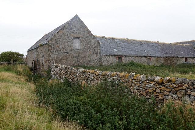 The former mill at Gerdie, Baltasound