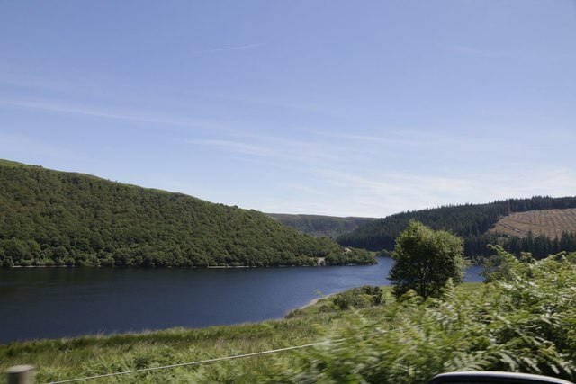 The Penygarreg Reservoir