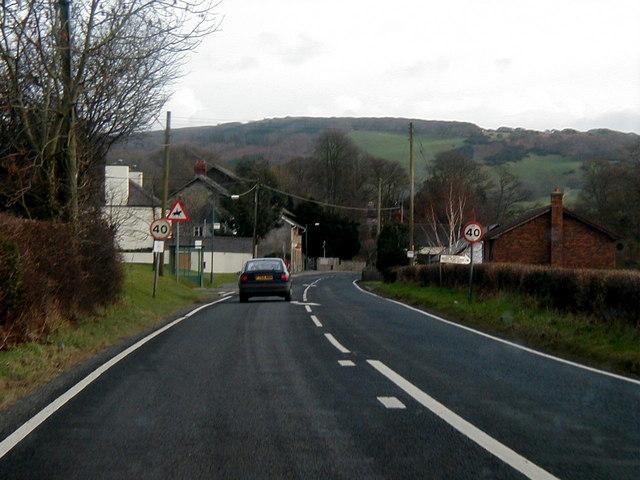 Entering Capel Bangor, 2001