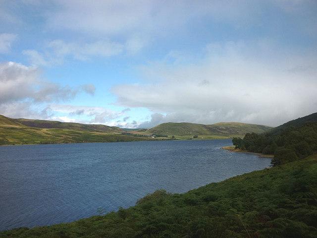 St Mary's Loch below Bowerhope Law