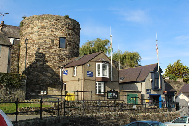 Harbour Master building and RNLI station