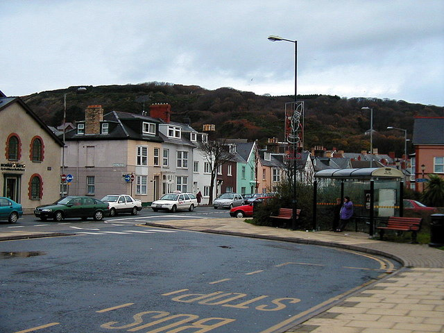 Aberystwyth bus station - 2000