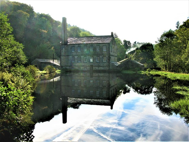 Gibson Mill, Hardcastle Crags