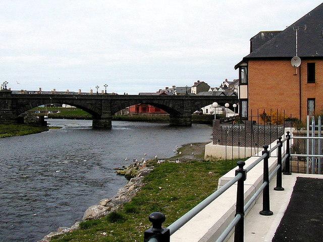 Beside Afon Rheidol, Aberystwyth