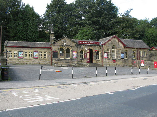 Haworth Railway Station, Keighley and Worth Valley Railway