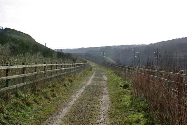 Bridleway towards Upper Nashenden Farm