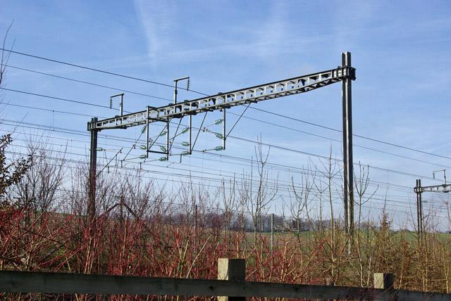 Overhead gantry, Channel Tunnel Rail Link
