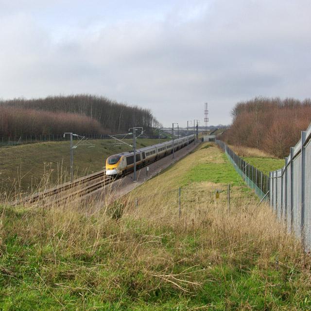 Eurostar heading for Channel Tunnel