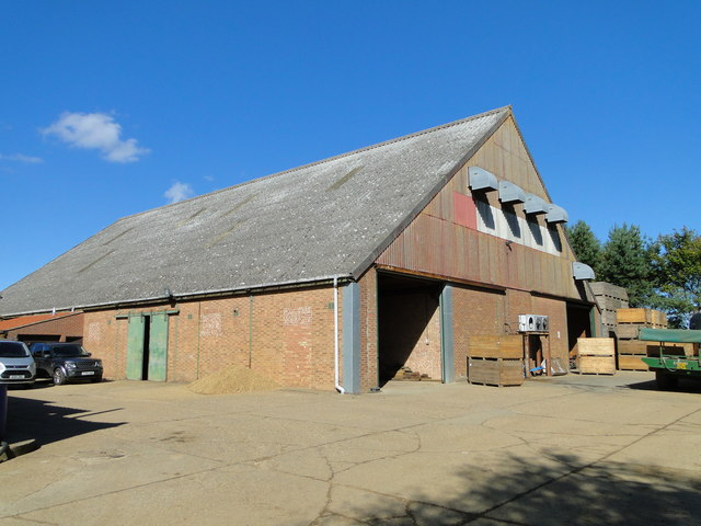 East Anglian Real Property Company farm shed at Paston