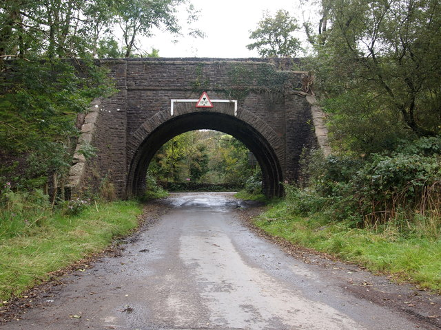 Former Railway Bridge Near Glynogwr