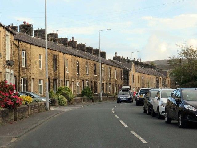 Terraced houses on Skipton Road