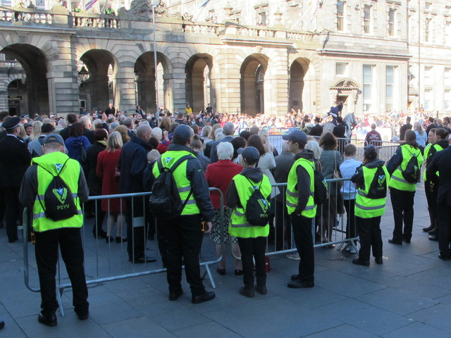 Police Scotland Young Volunteers at Edinburgh Riding of the Marches