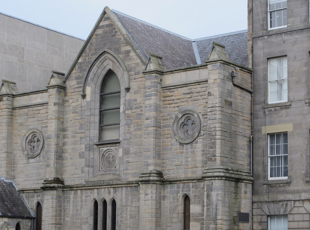 Symposium Hall, Former St. Michael's Church, Hill Square