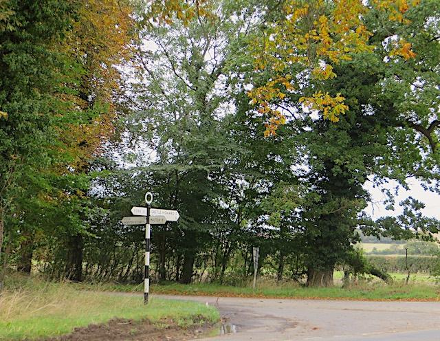 Crossroads near Foston
