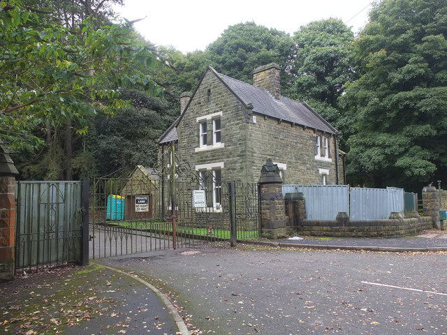 Old lodge on Stoney Brow, Upholland